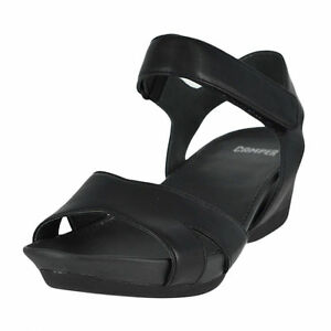 Camper Womens Shoes Micro Wedge Sandals Black 41 EU / 11 US. About this  product. Last one! Stock photo; Camper Womens Shoes Micro Wedge Sandals  Black ...