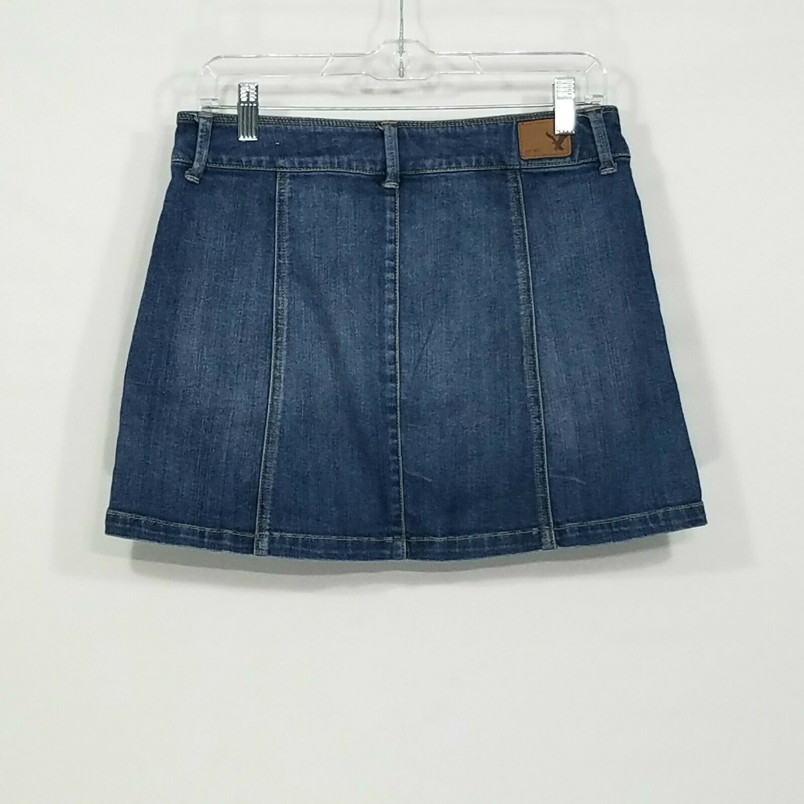 American Eagle Button Front Denim Mini Skirt Wome… - image 3