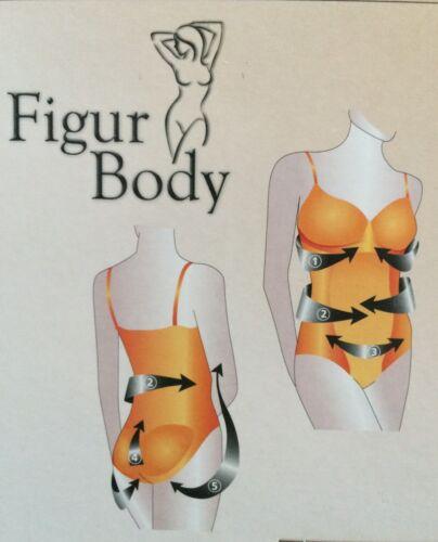 Figur Body schwarz 2er Set S M L 36-38 40-42 Push Up nahtlos Formbody Shapewear
