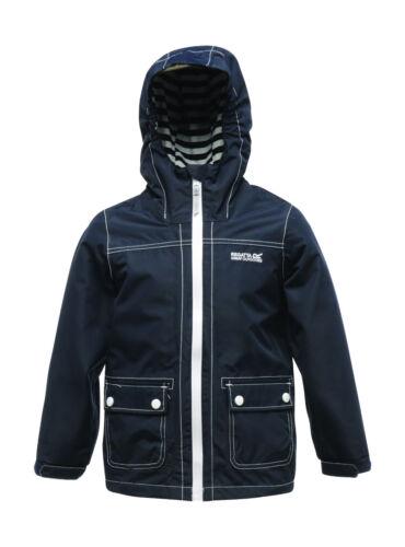 Regatta Foxworth Kids Jacket Waterproof Lined Girls Boys Coat RKW145