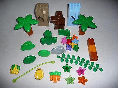 2 x Lego Duplo Pflanze Busch hell grün Strauch Baum Krone 4157599 74587