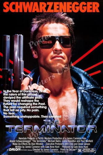 MOV084 Posters USA Terminator Original T1 Movie Poster Glossy Finish