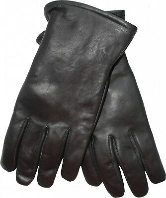 """Super Soft 100/% Echt Leder lange Handschuhe Opera Handschuhe DE 25.5/"""" 65cm"""