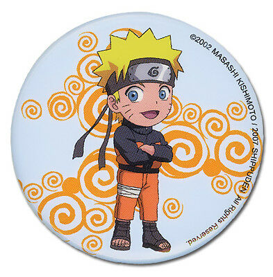 """Naruto Shippuden Anime KAKASHI CHRONICLES PATCH 3/"""" Licensed by GE Animation 4455"""