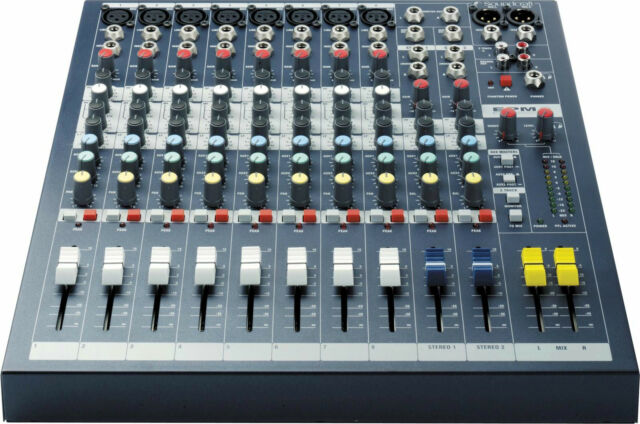 Soundcraft EPM8 10-channel Mixer Best Deal on eBay Authorized Dealer! Free Ship