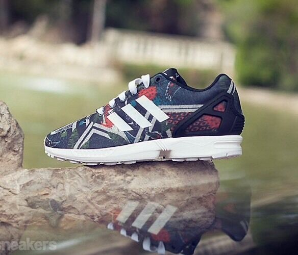 ADIDAS ZX FLUX WOMEN 'S RUNNING SHOES   RARE COLOR 100% Authentic