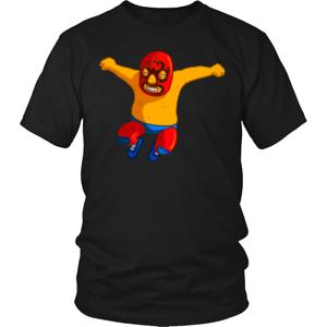 Lucha Libre Wrestler Shirt Funny Gift Unisex Mexicana Shirt For Cool Men /& Women