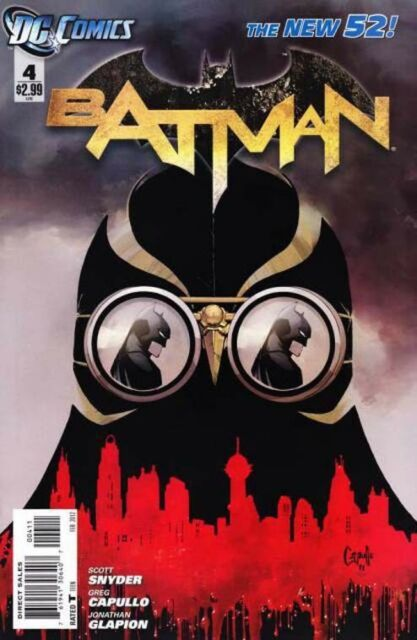 BATMAN #4 FIRST PRINT SOLD OUT DC NEW 52