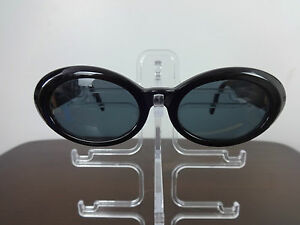 a96389c92bad Image is loading Womens-Sunglasses-Vintage-Gianni-Versace-black-MEDUSA-Mod-
