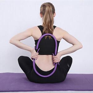 Professional-Yoga-Circle-Pilates-Sport-Magic-Ring-Quality-Dual-Grip-Training-MW