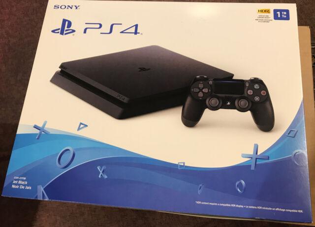 Sony PlayStation 4 Console, 1TB Slim Edition