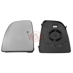 Door Wing Mirror Glass With Base Plate