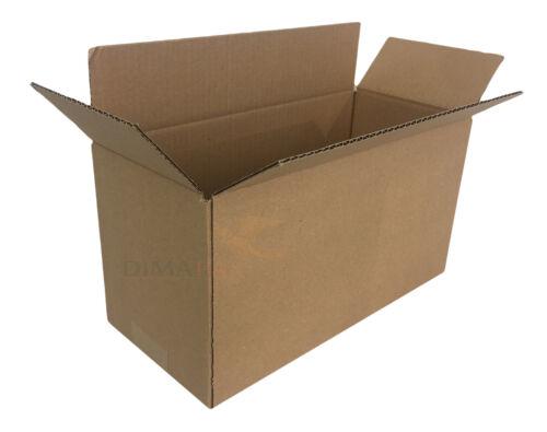 100 x Kartons 295 x 120 x 220 mm Schachtel Verpackung Paket Versand Box DPD DHL