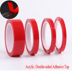 1 Roll 3m Double Sided Adhesive Tape Acrylic Transparent No Traces Sticker