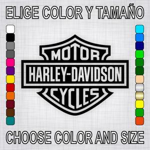 Vinilo-adhesivo-HARLEY-DAVIDSON-pegatina-logo-autocollant-motorcycle-decal