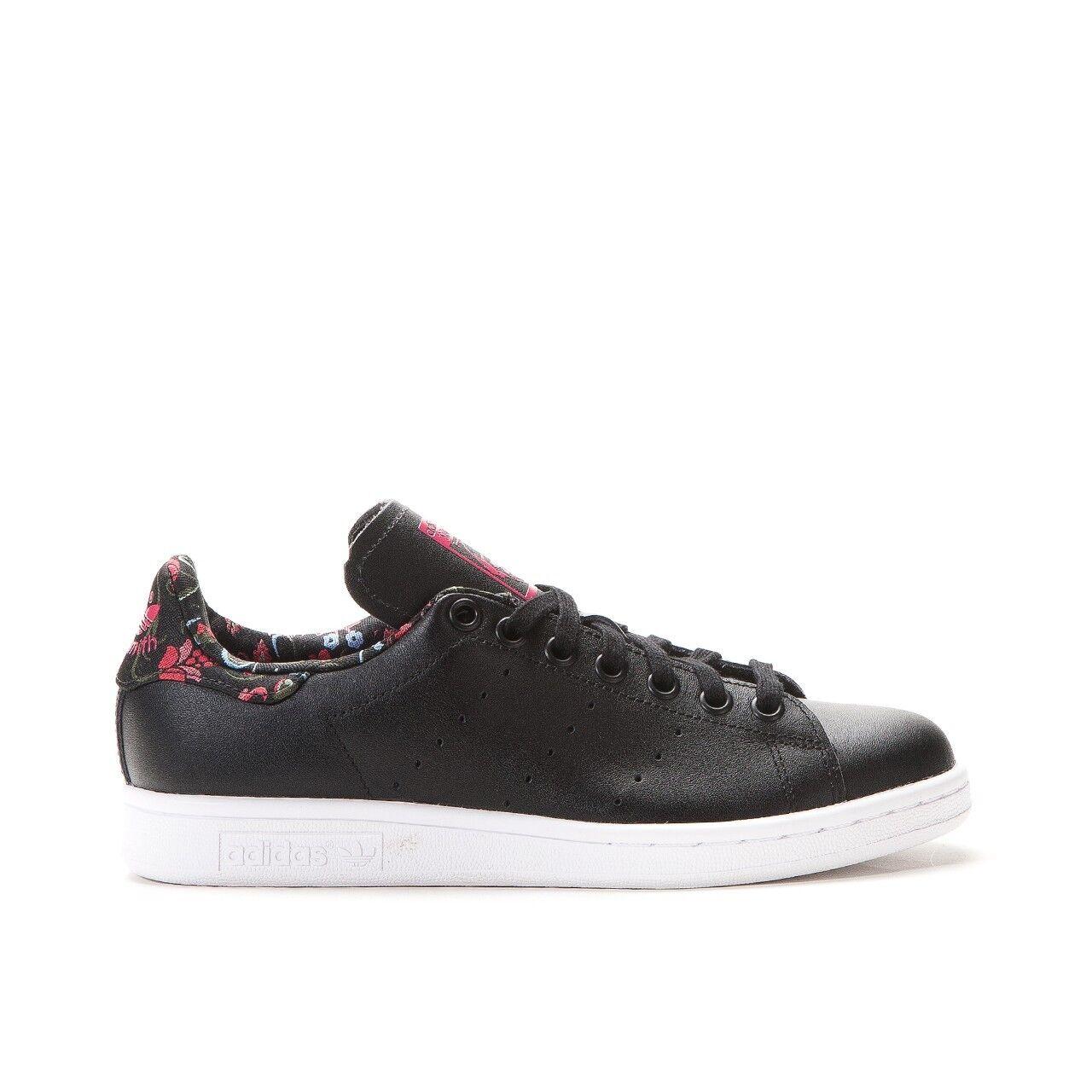 Adidas Originals Stan Smith Russian Bloom  Floral S77348 Black Rare