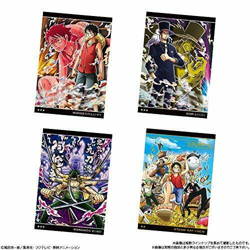 Bandai TV Animation ONE PIECE Wafer Part 6 Clashing Justice 20pcs CANDY TOY