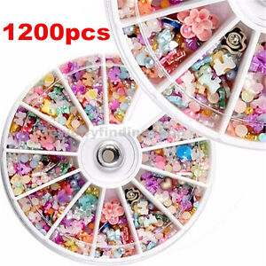 1200pcs-3D-Mixed-Nail-Art-Tips-Glitters-Rhinestones-Slice-DIY-Decoration-Wheel