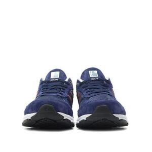 newest 7fc42 57958 Details about NEW BALANCE 990 M990BR4 RUNNING SHOES USA 12 UK 11.5 EUR 46.5  BLUE/PIGMENT RED