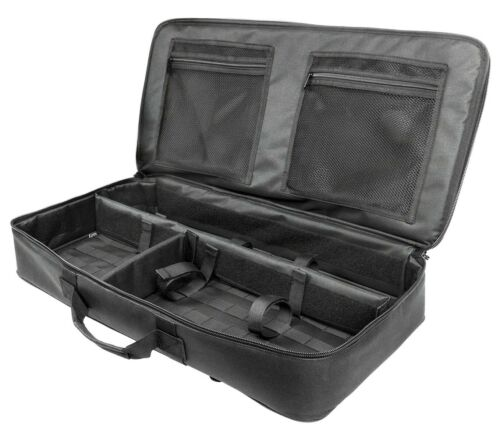 "VISM Discreet Takedown Carbine Case 26/"" Tactical Rifle Bag Shooting Hunting BLK"