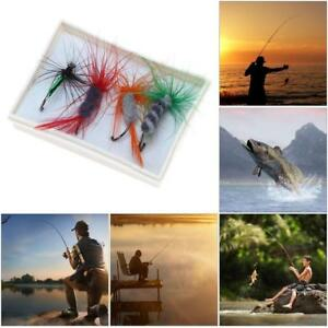 4Pcs-Fly-Fishing-Lure-Flies-Hooks-Feather-Baits-Fishing-Tackle-With-Box-Tool-Kit