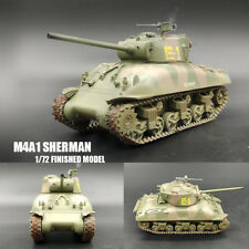 WWII M4a1 76 W Tank 2nd Armored Div Sherman 1/72 Tank Easy Model Finished