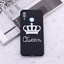 thumbnail 16 - King and Queen Crown case cover for Xiaomi Mi Redmi Note 5 6 7 8 9 lite Pro Plus