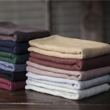 Cotton Linen Japanese Tea Towel Kungfu Tea Accessaries