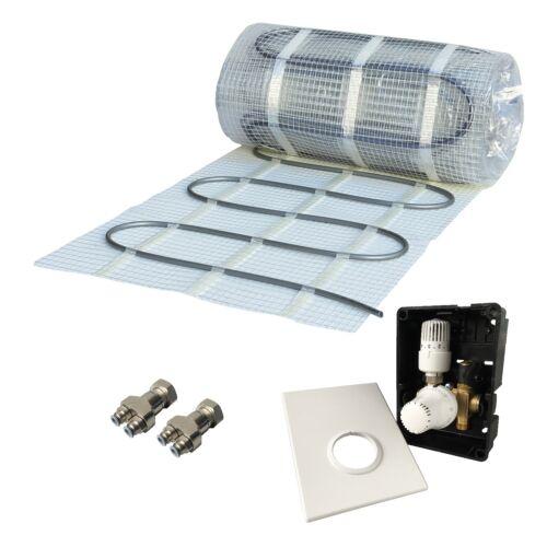 HoWaTech Warmwasser Fußbodenheizung Set mit Einrohr Heizmatte /& Regelbox TH-RTL