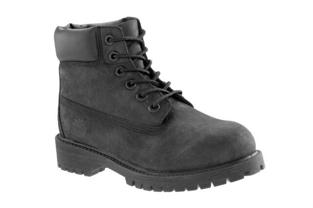 2da7f03d7d48 Timberland (TD) Toddler   Infants 6-Inch Waterproof Boot Black Nubuck 12807M