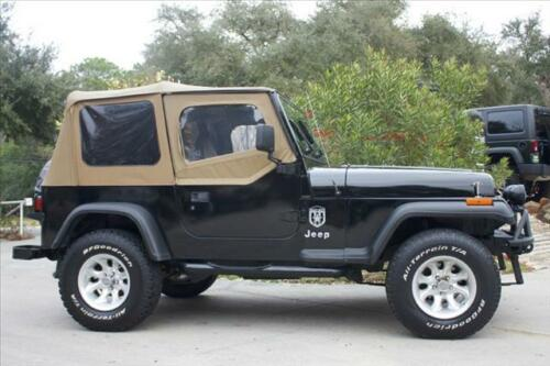 Spice Replacement Soft Top 88-95 Jeep Wrangler Free Grab Handles