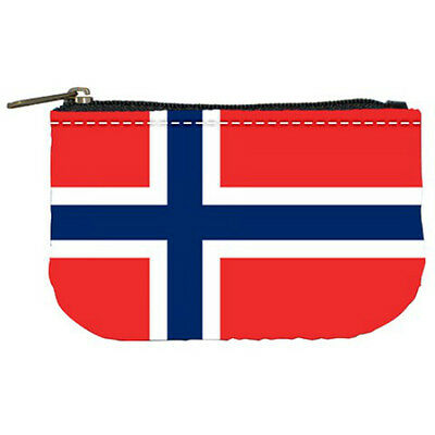 Norway Norwegian Flag Womens Coin Bag Purse