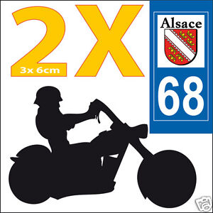 2-stickers-autocollants-style-plaque-immatriculation-moto-Departement-68