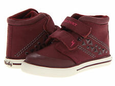 Pablosky Kids 9147 Girls Leather Sneakers Shoes Size 11 Toddler US (29 EU) New