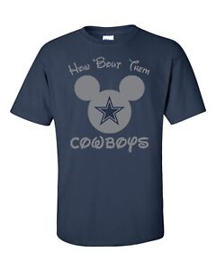 How-039-Bout-Them-Cowboys-Disney-shirt-Mickey-Mouse-Dallas-Zeke-Dak-FREE-SHIPPING