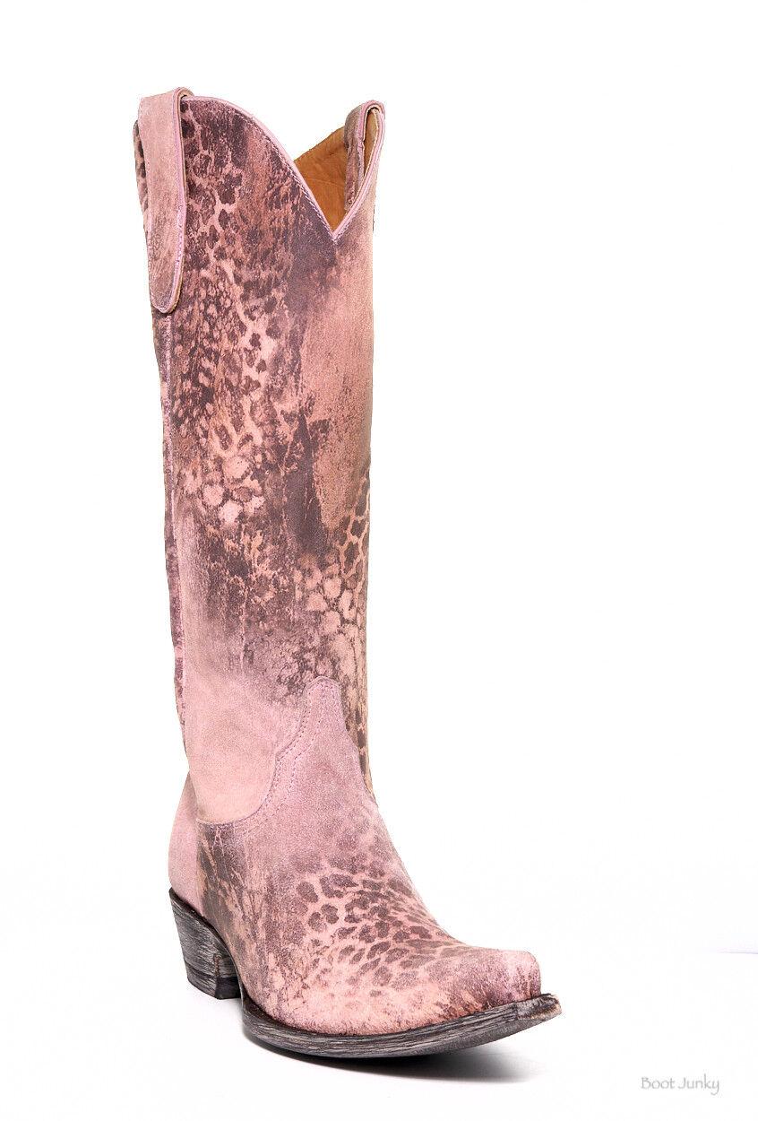 L 168-5 Old Gringo    exclusivo  rosado Leopardito 15  botas Altas  Web oficial