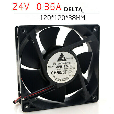 24V 1.5A  Large air volume 12CM FFB1224EHE  for Delta Inverter fan 2pin 3pin
