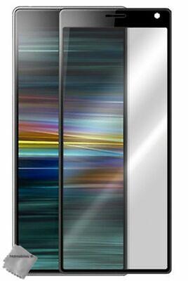 Film De Protection Verre Trempe Incurve Integral Pour Sony Xperia 10 - Noir