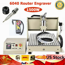 New Listingusb 3 Axis 1500w Cnc 6040 Router Engraver Diy Milling Drilling Machineremote