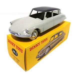 Voiture-Citroen-DS19-Prime-cadeau-de-fin-de-collection-ATLAS-DINKY-TOYS-24C