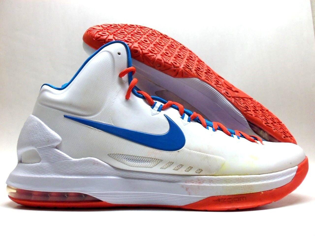 Nike zoom bianco kd / kevin durant bianco zoom / foto blue-orange dimensioni uomini 17 [554988-100] 7122ee