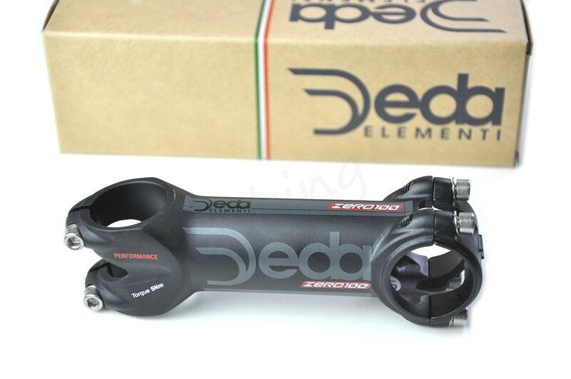 """DEDA ZERO 100 PERFORMANCE Bike Stem ,fit 1-1 8"""", 31.7 mm x 90mm   100mm   110mm"""