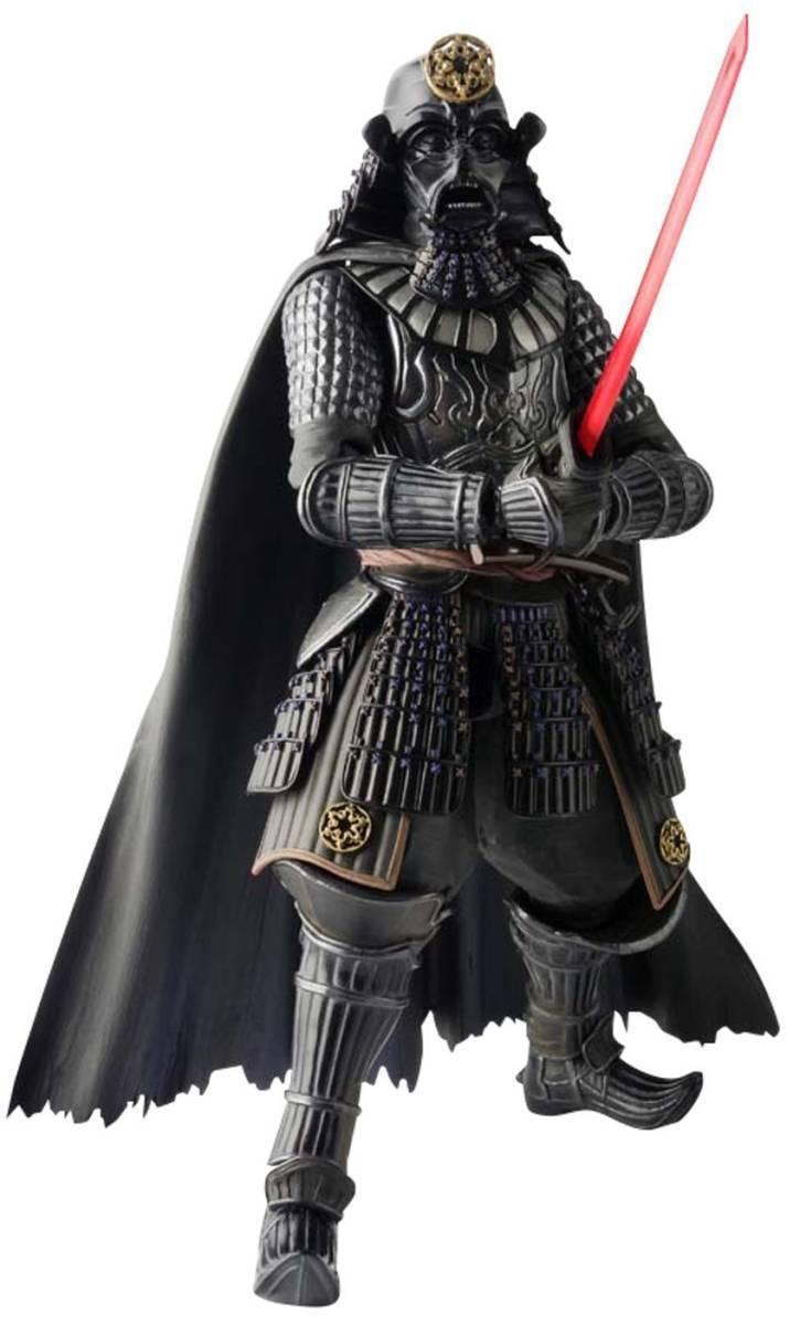 Free shipping MOVIE REALIZATION SamuraiTaishyo Darth Vader Collaboration Figures