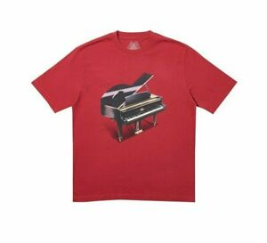 Palace-Grand-Tee-T-Shirt-Size-Medium-Dark-Red-Palace-2019-Release-Brand-New