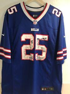 Details about LeSean McCoy Buffalo Bills Jersey Mens Size Large NFL Football Nike Blue