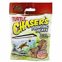 Zilla Turtle Chasers Floating Treats With Real Clam 2oz