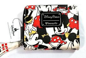 65382b58a97 Image is loading Disney-Parks-Wallet-Mickey-Mouse-Minnie-Mouse-Loungefly-