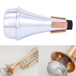 Aluminium-Straight-Trumpets-Mute-For-Jazz-Instrument-Practice-Beginner-EC