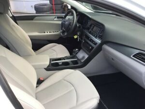 2015 Hyundai Sonata cream interior