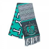 Slytherin - Harry Potter House Winter Jacquard Banner Scarf Officially Licensed